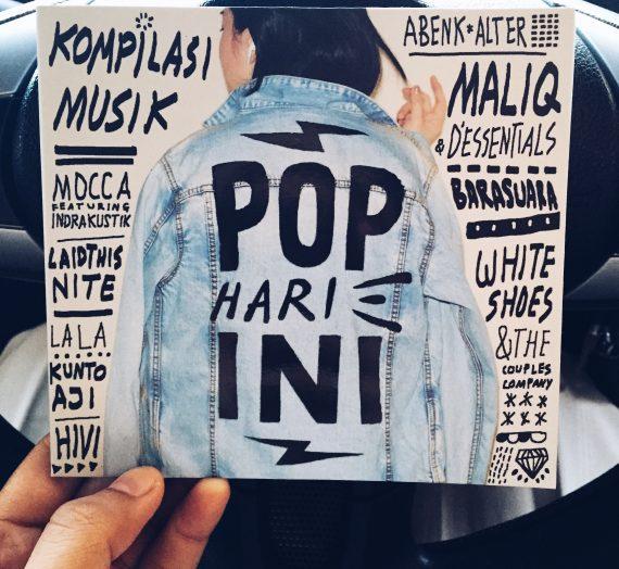 CD Kompilasi Musik Pop Hari Ini