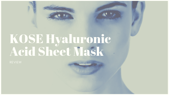 KOSE Hyaluronic Acid Sheet Mask