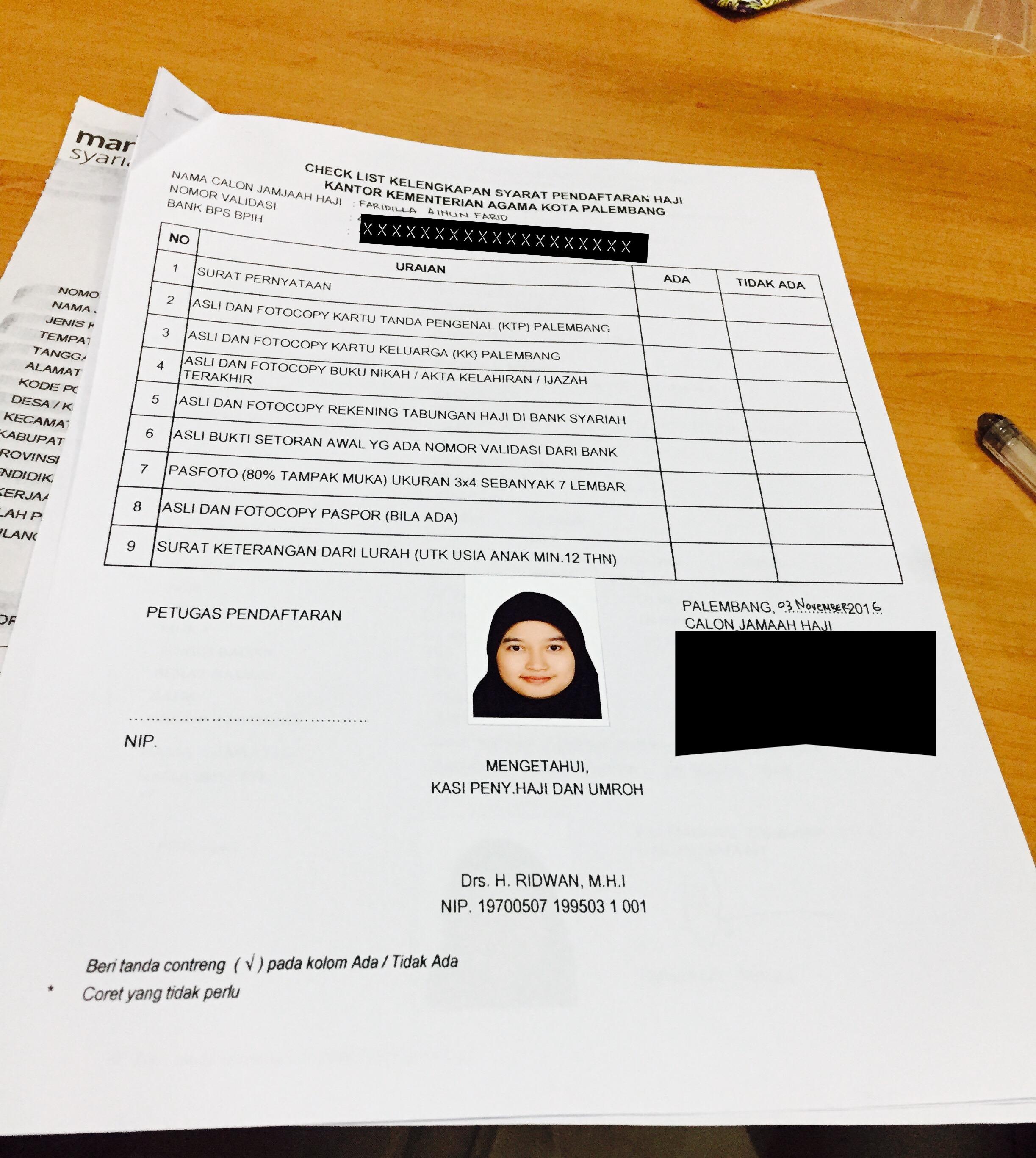 Mengurus Pendaftaran Haji Ternyata Mudah