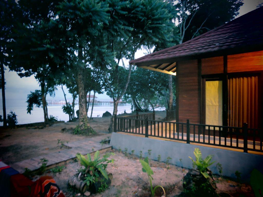 Waiwo Dive Resort, salah satu homestay keren di Raja Ampat