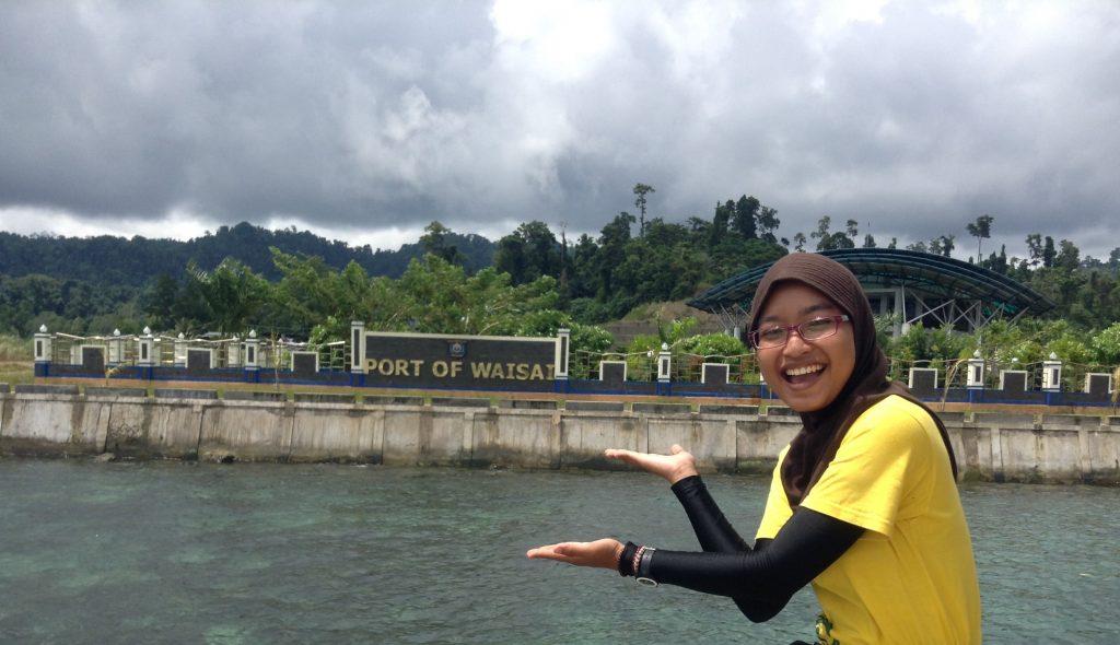 Port of Waisai Pembuka jalan menuju Raja Ampat di Papua BArat