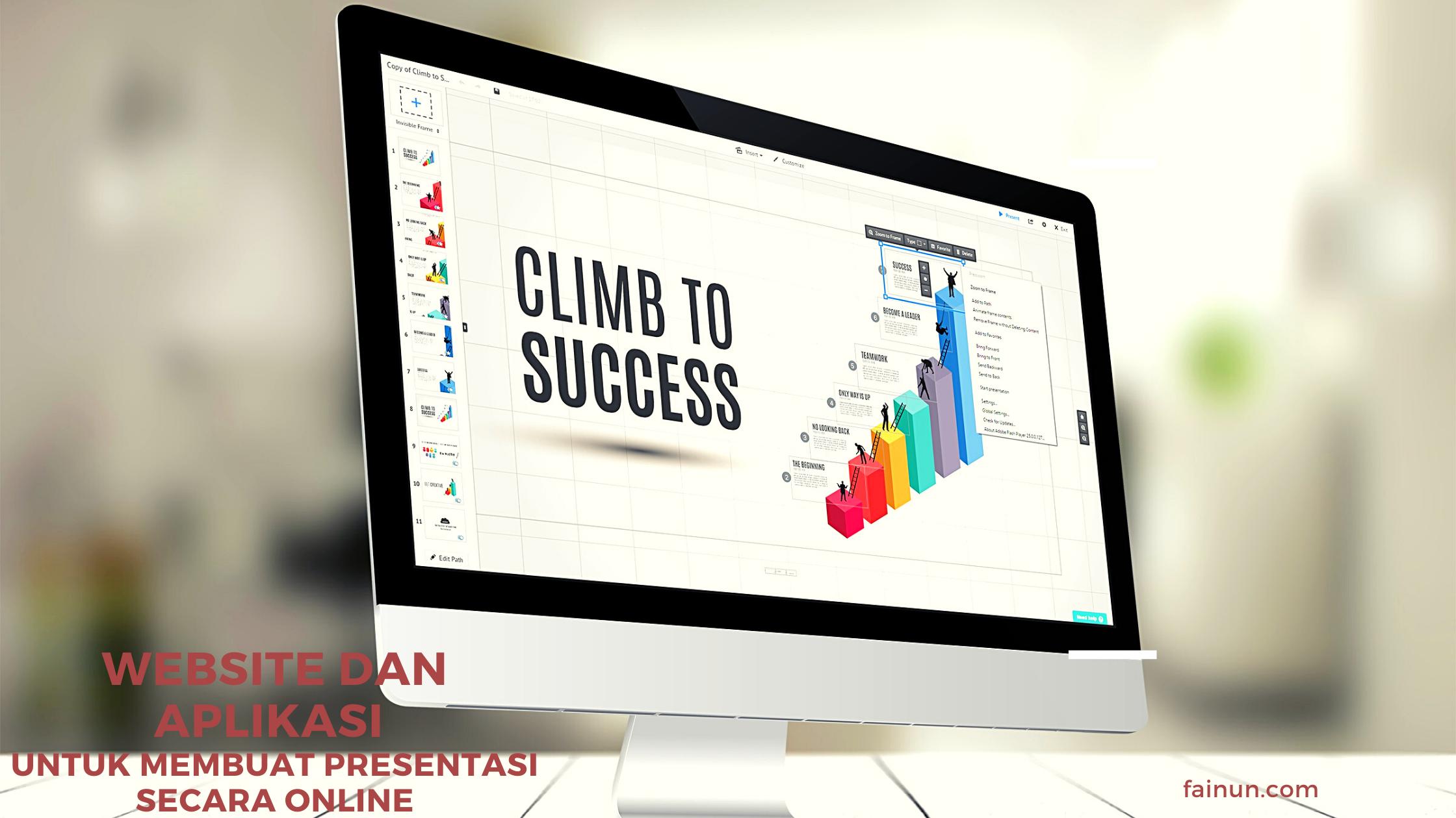 Website dan Aplikasi Untuk Membuat Presentasi Secara Online