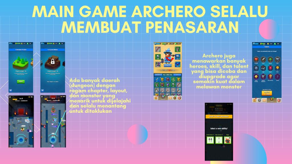 Main Game Archero bikin penasaran dan ketagihan