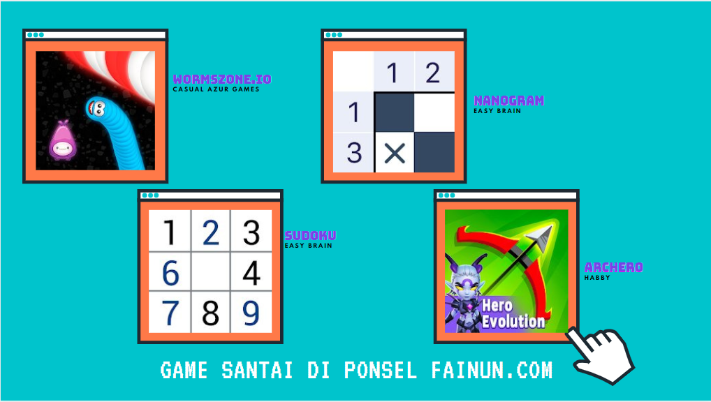 Game Santai di Ponsel FAinun.com